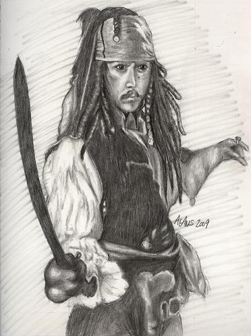 Johnny Depp by Jagans